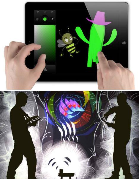 Tagtool iPad App Urban Light Art 2