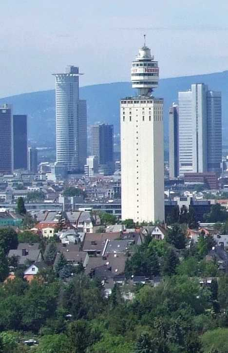Henninger Tower Frankfurt Germany abandoned