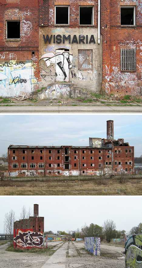Wismaria abandoned brewery Germany