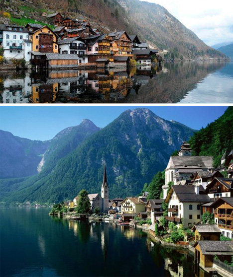 chinese duplicate village