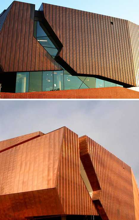 Copper Clad Aluminum : Penny wise cool copper clad buildings urbanist