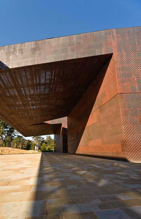 copper-clad de Young Museum