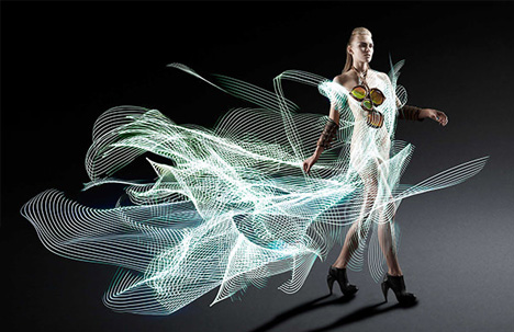 light art dress