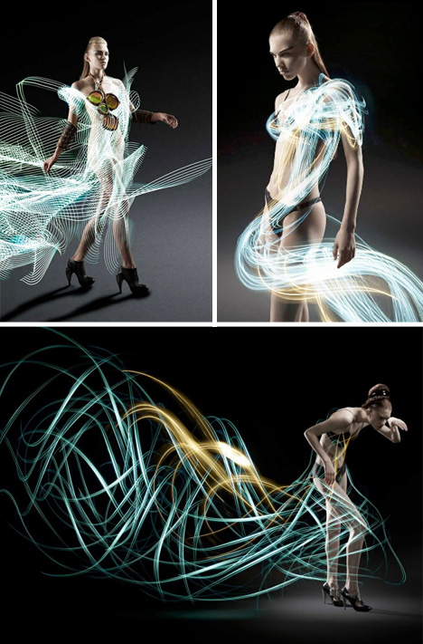light art runway models
