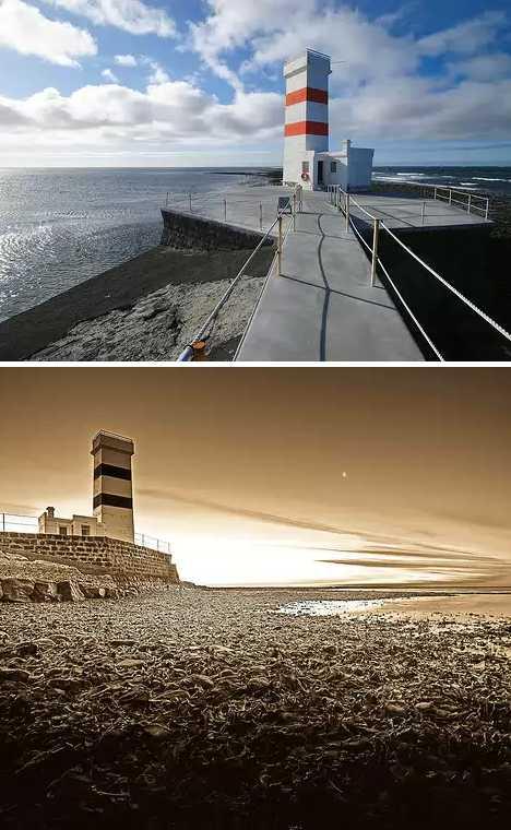Gardskagi Lighthouse Iceland inactive