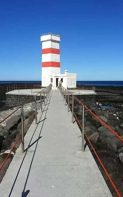 Gardskagi Lighthouse Iceland inactive