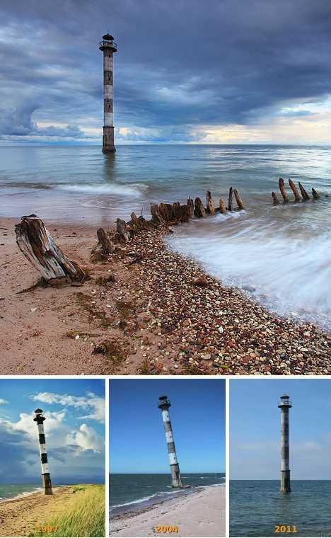 Kiipsaare Lighthouse Saaremaa Estonia abandoned