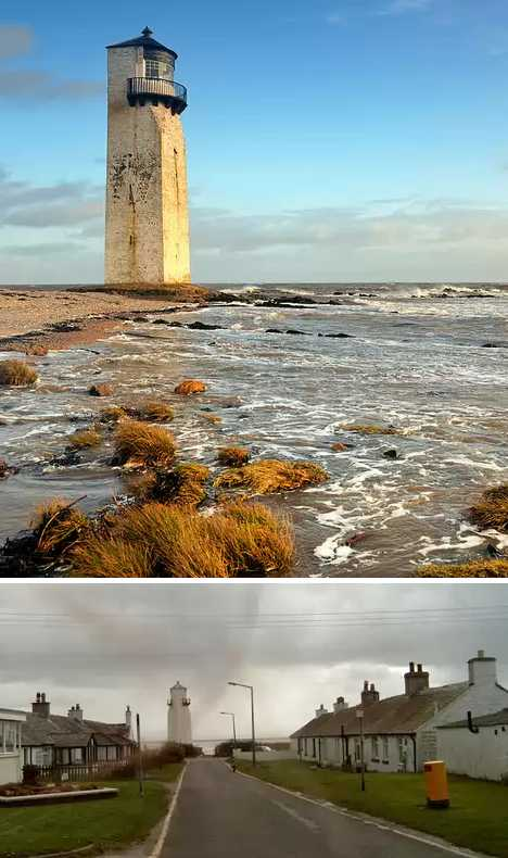 Southerness Lighthouse Scotland abandoned