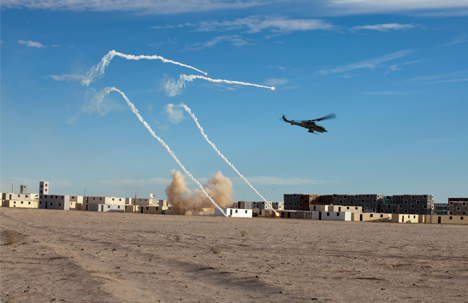 military missile run example