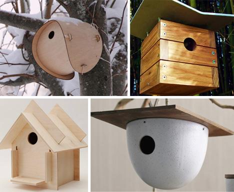 Crafty Modernist Birdhouses Sing Mid-Century Melodies | Urbanist