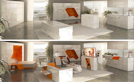 5 Room In A Box Designs Form 100 Modular Home Interior Urbanist
