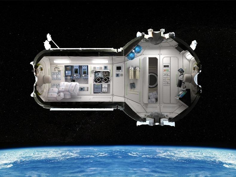 space hotel design