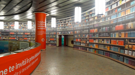 subway station qr library
