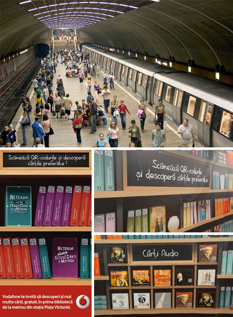 subway stop guerrilla marketing