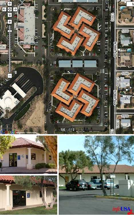 swastika buildings Glendale medical