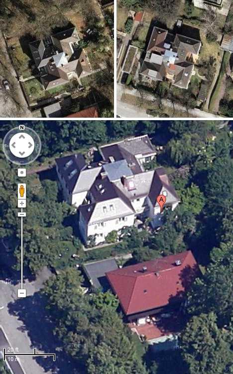 swastika estate house Munich Germany