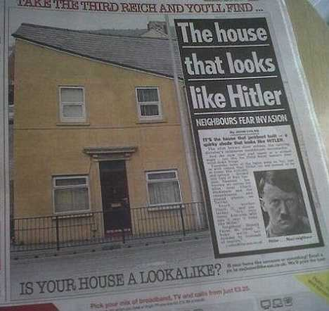 Hitler House Swansea UK