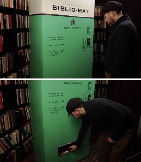 vending book biblio mat