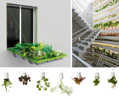 Urban green 8 ingenious small space window garden ideas for Limited space gardening ideas