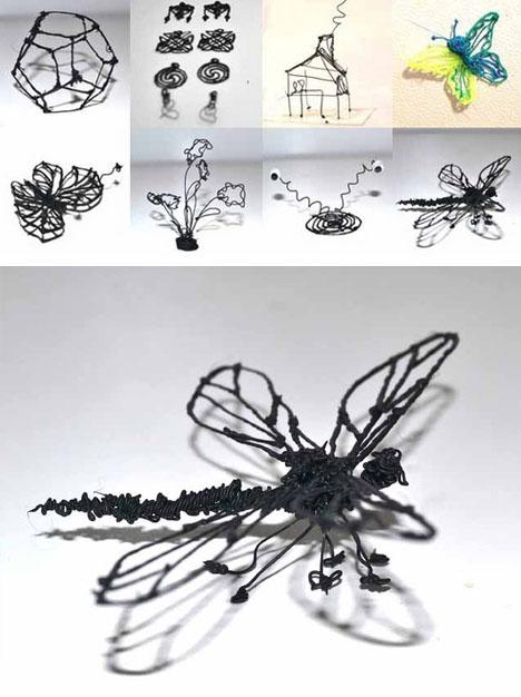 3d drawing sculpture examples