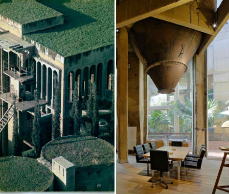 Abandoned Cement Factory Office 1