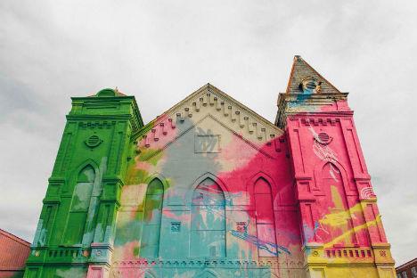 Abandoned Church Art 4