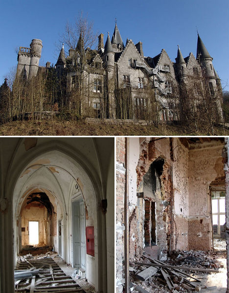 Abandoned Homes Chateau de Noisy 2