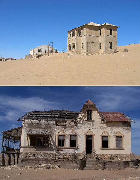 Abandoned Homes Kolmanskop 1