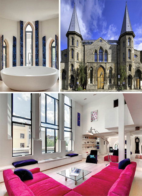 Church Bells To Doorbells: 8 Churches Turned Into Homes | Urbanist