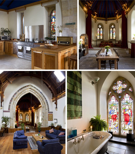 church bells to doorbells 8 churches turned into homes urbanist. Black Bedroom Furniture Sets. Home Design Ideas