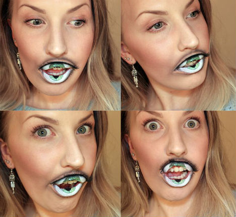 Eye Teeth Makeup 2