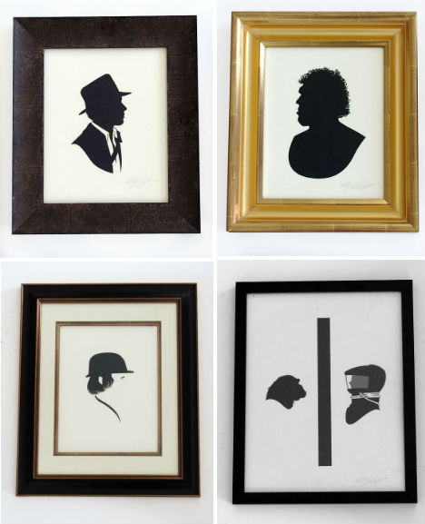 Pop Culture Silhouettes 5