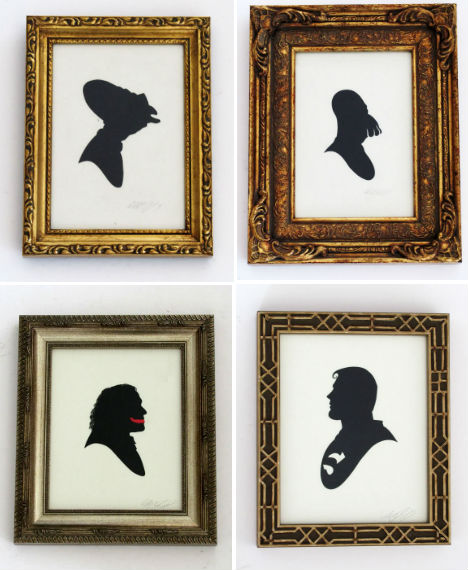 Pop Culture Silhouettes 8