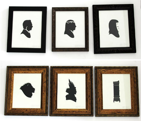 Pop Culture Silhouettes 9