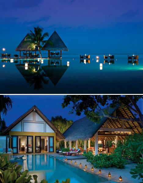 Resorts for the Rich Four Seasons Maldives 1