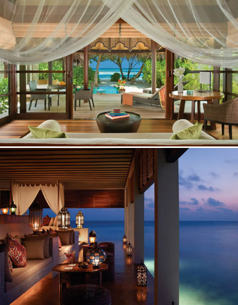 Resorts for the Rich Four Seasons Maldives 2
