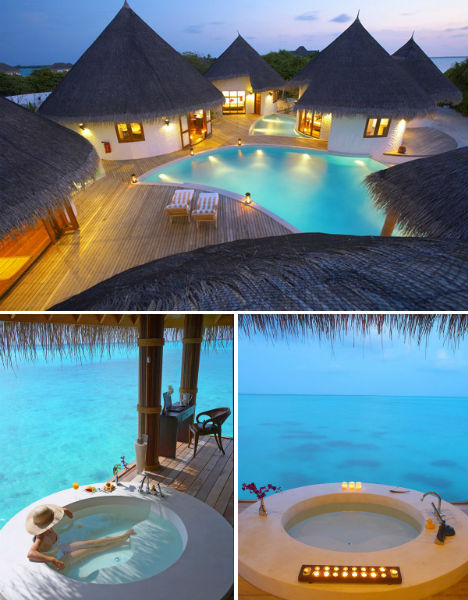 Resorts for the Rich Island Hideaway Maldives