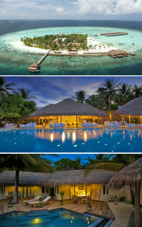 Resorts for the Rich Maldives Paradise