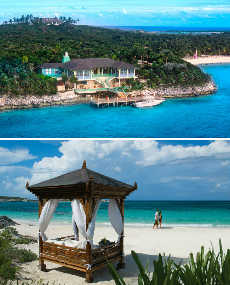 Resorts for the Rich Musha Cay