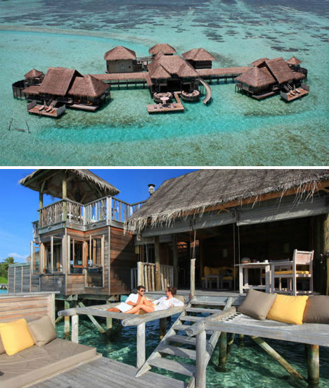 Resorts for the Rich Soneva Gili 1