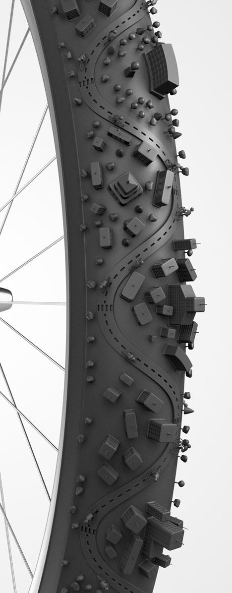 bike tire urban design