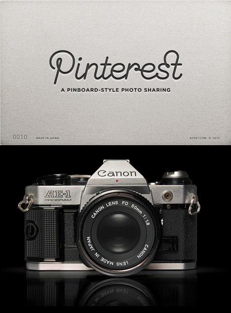 camera inspired internet logos