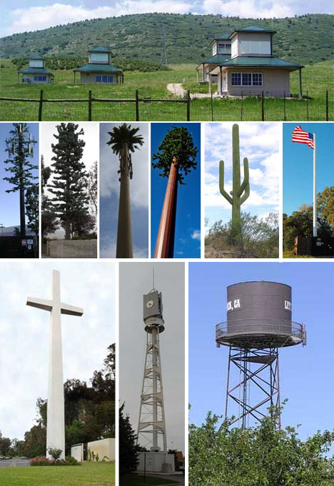 fake cell tower disguises