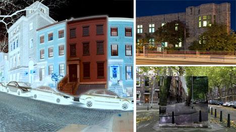 fake urban architecture