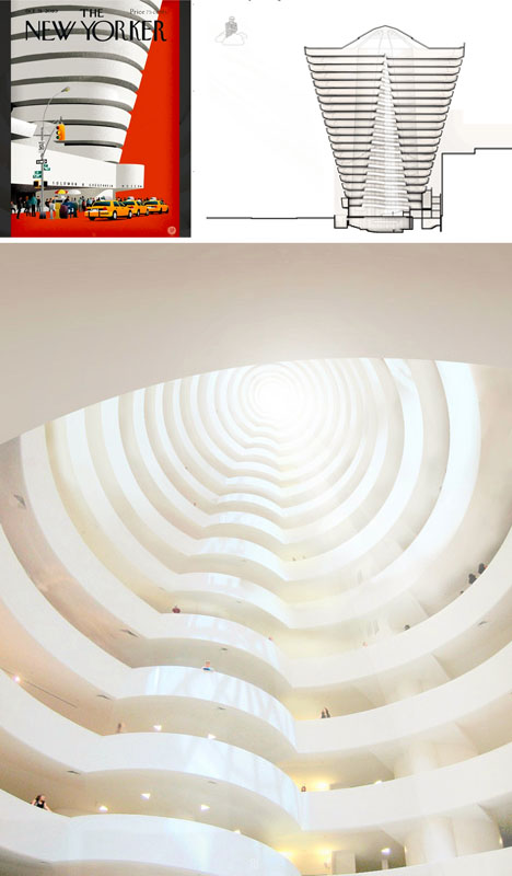 guggenheim artistic extension concept