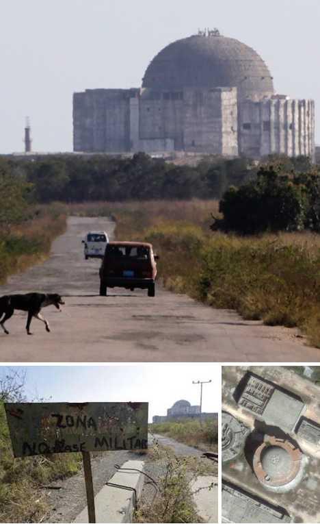 Juragua Nuclear Power Plant Cuba