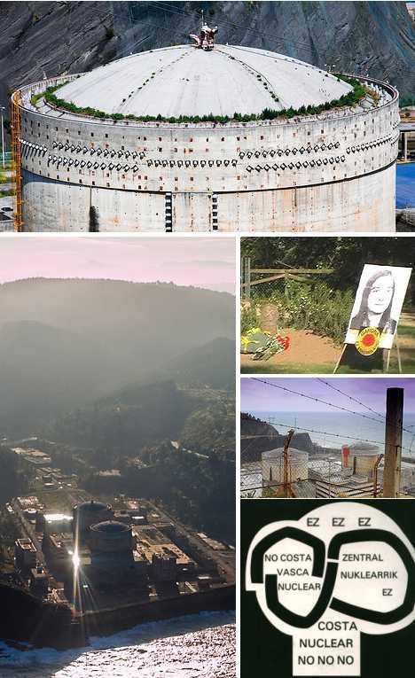 Lemoniz nuclear power plant Spain