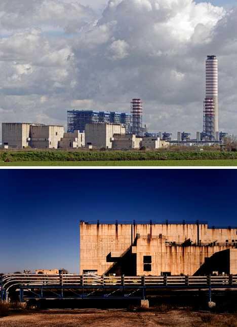 Montalto di Castro Nuclear Power Plant Italy