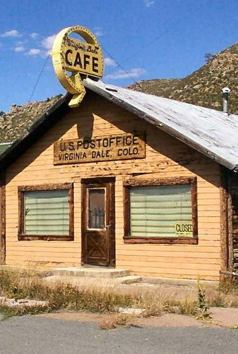 Virginia Dale post office cafe