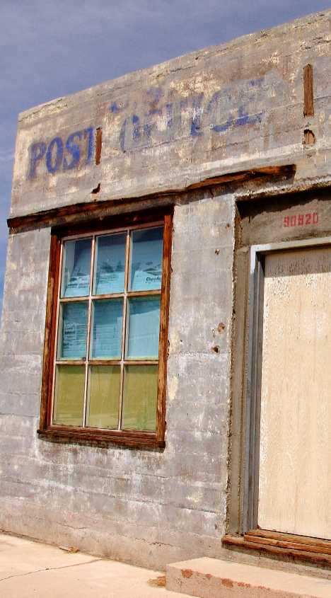 Kelso California abandoned post office